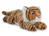 Weiß 40 Cm Teddy Hermann Tiger Liegend